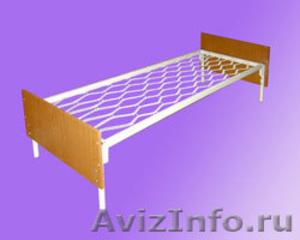 Кровати одноярусные, кровати двухъярусные, кровати для строителей - Изображение #2, Объявление #542945