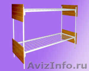 Кровати одноярусные, кровати двухъярусные, кровати для строителей - Изображение #3, Объявление #542945
