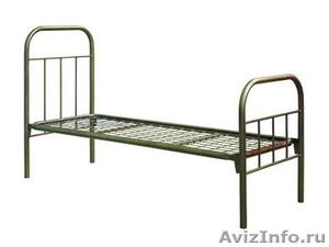 Кровати одноярусные для больницы, кровати двухъярусные для строителей - Изображение #1, Объявление #689284