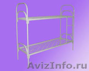 Кровати одноярусные для больницы, кровати двухъярусные для строителей - Изображение #2, Объявление #689284