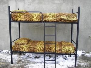 Кровати металлические для казарм, кровати трёхъярусные для рабочих, кровати опт - Изображение #6, Объявление #1478876