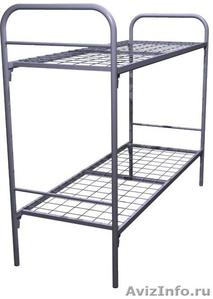 Кровати металлические для казарм, кровати трёхъярусные для рабочих, кровати опт - Изображение #7, Объявление #1478876