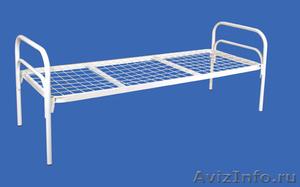Кровати металлические для казарм, кровати трёхъярусные для рабочих, кровати опт - Изображение #3, Объявление #1478876