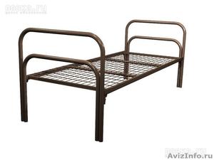 Кровати металлические для казарм, кровати трёхъярусные для рабочих, кровати опт - Изображение #1, Объявление #1478876