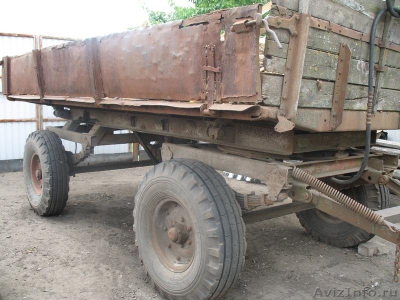 Куплю прицеп на трактор 2х осный 2 птс-4 бу
