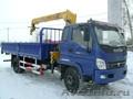 Бортовой грузовик FOTON с краном-манипулятором 3.2 т.